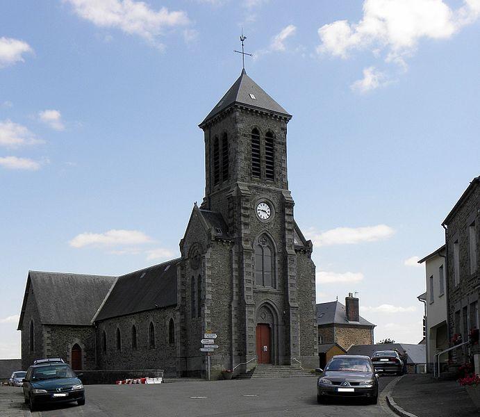 Église Saint-Maurice de Madré (53).