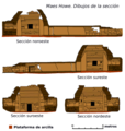 Maes Howe Cross Sections-es.png