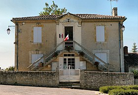 Mairie de Larressingle.