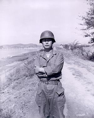 Paik Sun-yup - Paik at Taegu, South Korea in 1950.