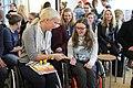 Mallory Weggemann visits the Regine Hildebrandt Schule in Birkenwerder IMG 0337 (16603244873).jpg