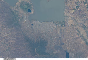 Managua - Astronaut view of Managua
