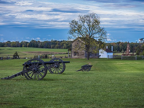 Manassas National Battlefield Park in Prince William County, Virginia.