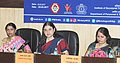 Maneka Sanjay Gandhi addressing at the inauguration of the first ever Workshop on Sexual Harassment of Women at Workplace (Prevention, Prohibition and Redressal) Act, 2013 for Government ICCs, in New Delhi.jpg