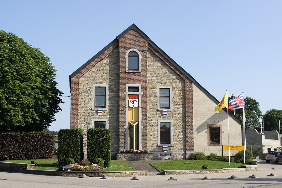 Townhall in Manhay