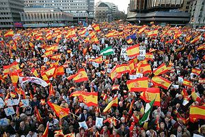 PP demonstration in 2007 in opposition to rele...