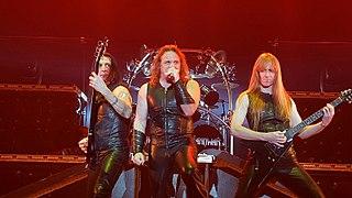 Manowar American heavy metal band