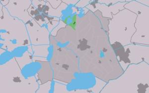 Goingarijp - Image: Map NL Skarsterlân Goaiïngaryp