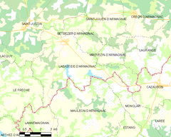 Map commune FR insee code 40131.png