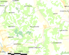 Map commune FR insee code 64556.png