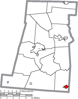 Location of Mount Sterling in Madison County