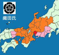 Map of Oda clan 1582.png