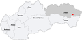 Map slovakia humenne.png
