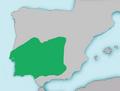 Mapa Chondrostoma lemmingii.png