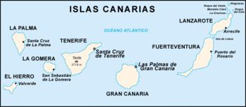 Spanien Lanzarote Karta.Kanarieoarna Wikipedia