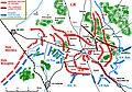 Mapa działań przasnyskich 18 II do 24 II 1915 roku.JPG