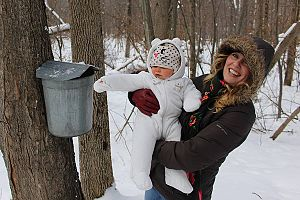Cumming Nature Center - The maple sugaring event is for all ages.