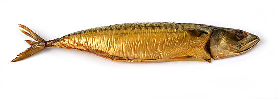 Smoked Atlantic mackerel