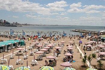 Mar del Plata beach 2