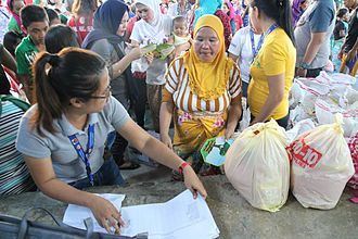 Battle of Marawi - Refugees from Marawi staying in Iligan.