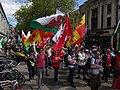 March for Welsh Independence arranged by AUOB Cymru First national march; Wales, Europe 36.jpg