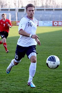 Marcus Pedersen (Vitesse Arnhem) - Norway national under-21 football team (03).jpg
