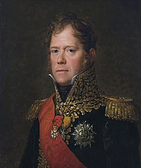 Marshal Ney in French uniform with decorations