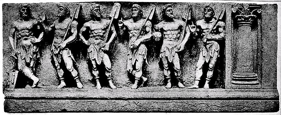 Marine deities Gandhara