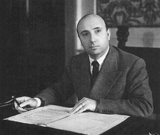 Portella della Ginestra massacre - Interior Minister Mario Scelba in 1947
