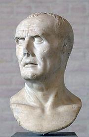 A bust of Gaius Marius