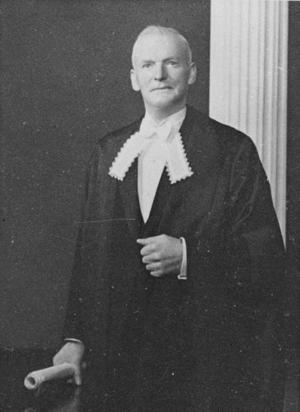 Mark Fagan - Fagan as Speaker of the Legislative Council.