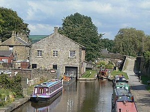 Marple, Greater Manchester - Image: Marple Wharf geograph.org.uk 1500307