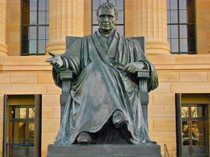Chief Justice John Marshall - Philadelphia recast at the Philadelphia Museum of Art