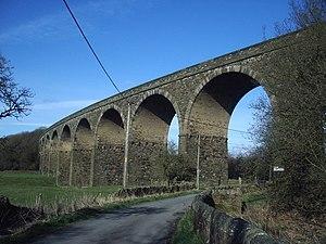 Read, Lancashire - Image: Martholme Viaduct geograph.org.uk 155346