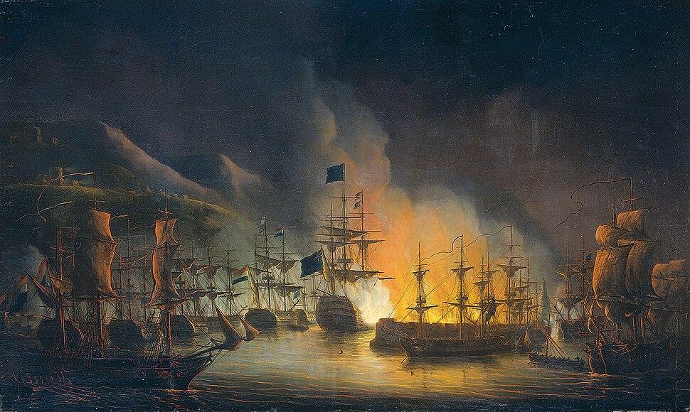 Martinus Schouman - Het bombardement van Algiers