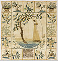 Mary Hamilton, American - Sampler - Google Art Project.jpg