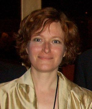 72nd World Science Fiction Convention - Best Novelette winner Mary Robinette Kowal