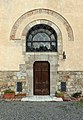 Massa marittima, san francesco, esterno, porta del convento.JPG