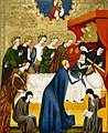 Master Of Heiligenkreuz - The Death of St. Clare - WGA14443.jpg
