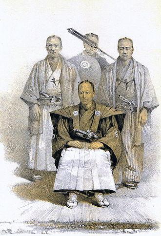 Gentry - Matsue daimyō (c. 1850s)