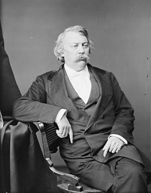43rd United States Congress - President pro tempore Matthew H. Carpenter