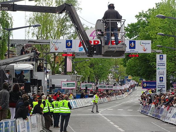 Maubeuge - Quatre jours de Dunkerque, étape 2, 7 mai 2015, arrivée (A22).JPG