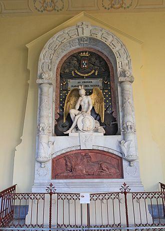 Manuel Gutiérrez de la Concha - Mausoleum of the Marqués del Duero at the Pantheon of Illustrious Men, Madrid.