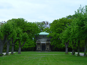 Ernest Augustus, Duke of Brunswick - Mausoleum at Herrenhausen Gardens in Hanover