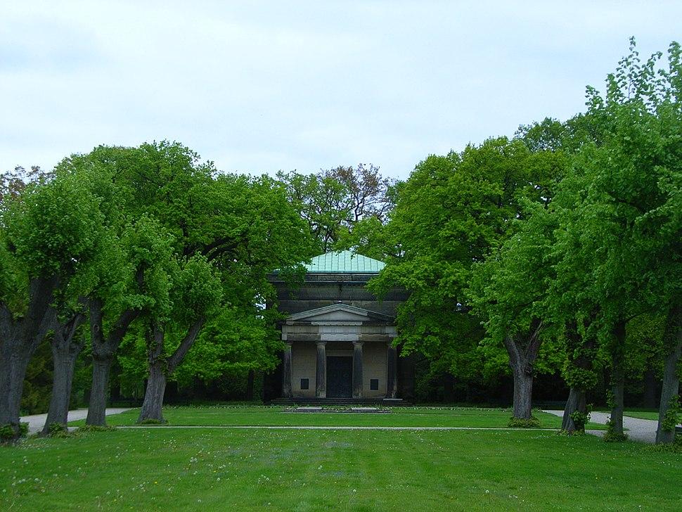 Mausoleum im Berggarten (Herrenh%C3%A4user G%C3%A4rten)