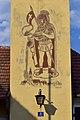 Mautern an der Donau - Freiwillige Feuerwehr - Sgraffito von Gustav Steinschorn.jpg