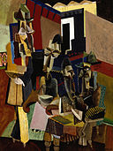 Max Weber - The Visit - Google Art Project.jpg