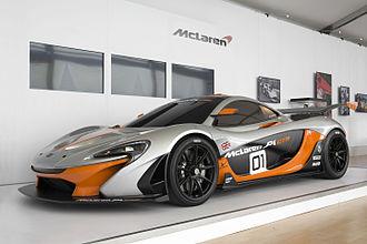 McLaren Automotive - McLaren P1 GTR