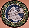 Medallions with St. John the Evangelist, St. Luke the Evangelist, St. Mark the Evangelist, St. Matthew the Evangelist (1519-1517) - Attributed to the Della Robbia workshop, Andrea della Robbia with Giovanni della Robbia (28104486127).jpg