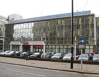 Media Wales - The former printing plant and main offices at Thomson House in Havelock Street